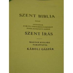 Szent Biblia Karoli Gaspar  $49.99