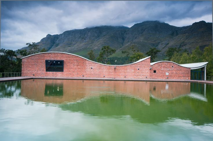 Italy and South Africa, my favourite winecountries of the world. Dornier Winery