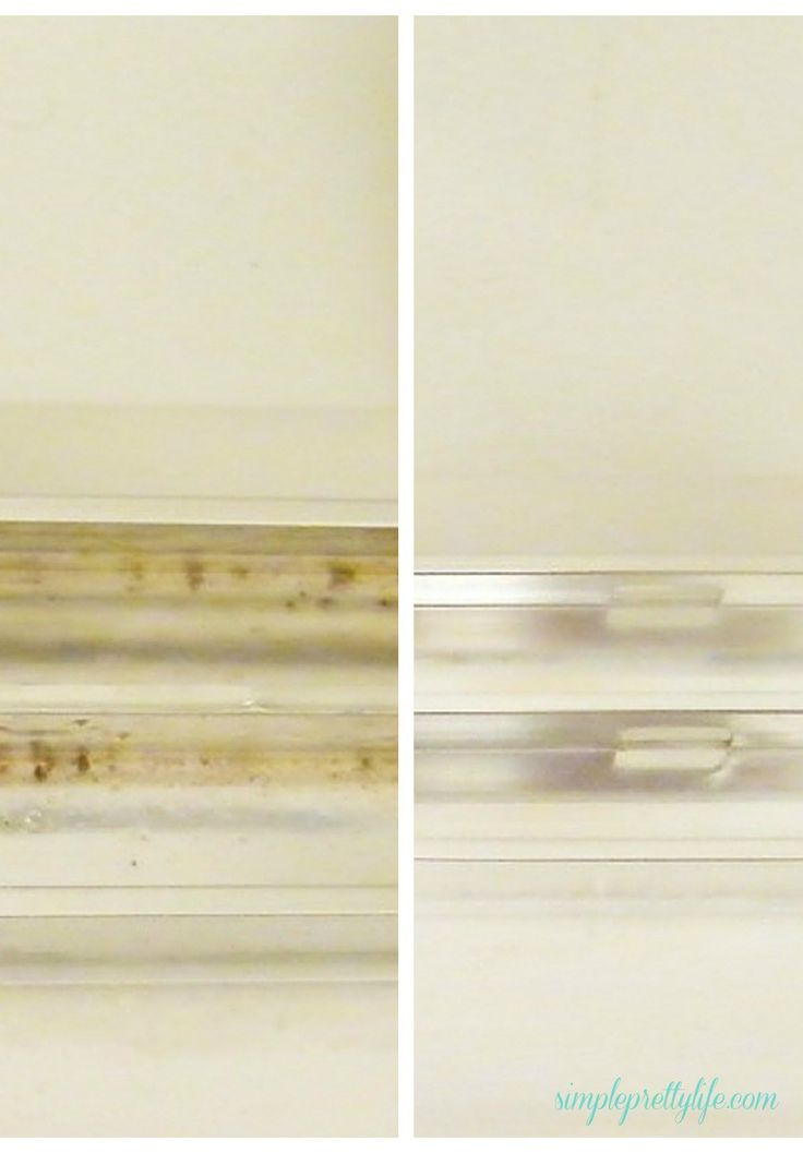 Do you dread cleaning the shower because of the dreaded door tracks? With almost no effort, find out how to get sparkling clean shower door tracks today!
