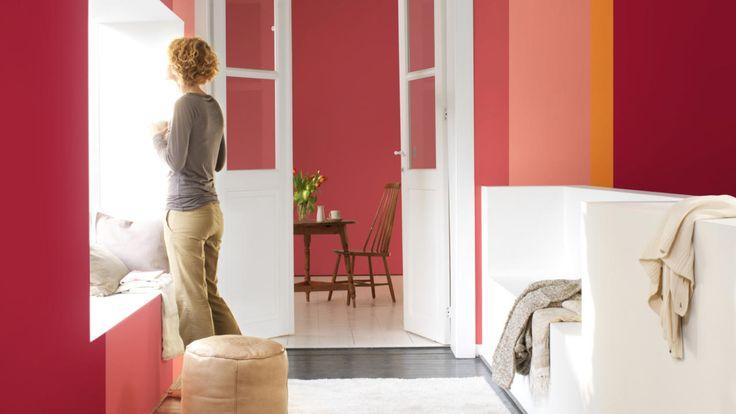 Probeer onze creatieve kleurkeuzes en maak een geweldige eerste indruk als gasten langskomen in je nieuwe huis.