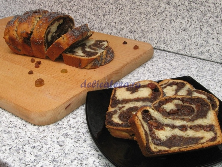 Cozonac de post la maşina de făcut pâine...Post cake to bread making machine