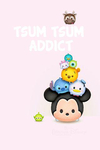 Tsum Tsum wallpaper téléphone