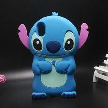 Caja del teléfono móvil 3D puntada de la historieta linda cubierta de silicona suave para BQ Aquaris X5(China (Mainland))