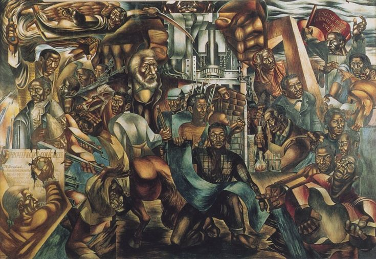 Charles wilbert white the contribution of the negro to for African american mural