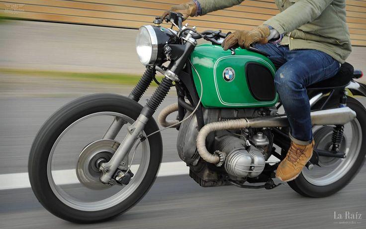 #BMW R100 / 7, Oak by La Raiz Motorcycles ~ Featured on www.motorivista.com
