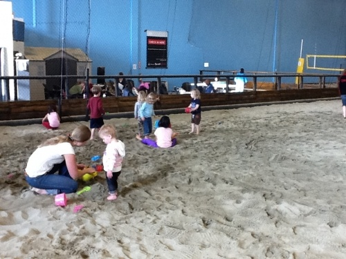 At 6Pack Beach, kids build sand castles year round | The Vancouver Observer