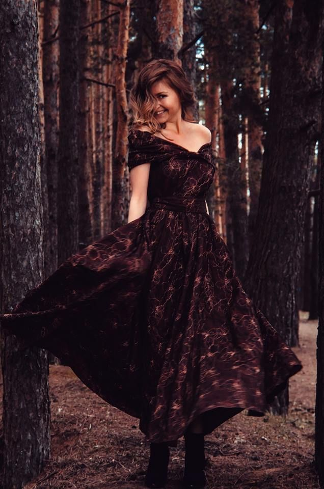 "Сказочное платье....Винтаж 2014,мод. ""Фиоре"" / Rezi / 24.04.2015 / Фотофорум BurdaStyle"