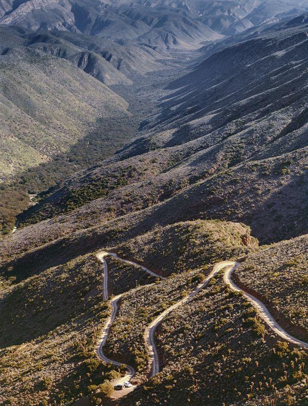 Karoo — Obie Oberholzer - road to Die Hel - Gamkaskloof - Swartberg Mountains (Black Mountain)