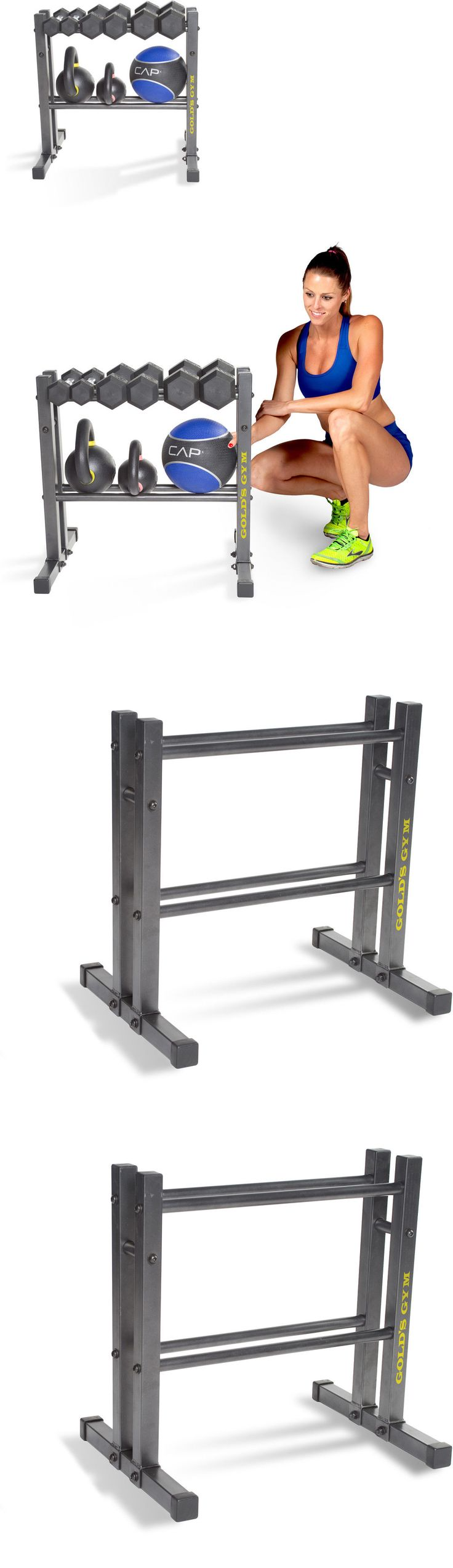 Weight Storage 179819: Gold S Gym 24 Utility Rack Storage Organizer Steel Black Dumbbells Barbells New -> BUY IT NOW ONLY: $46.99 on eBay!