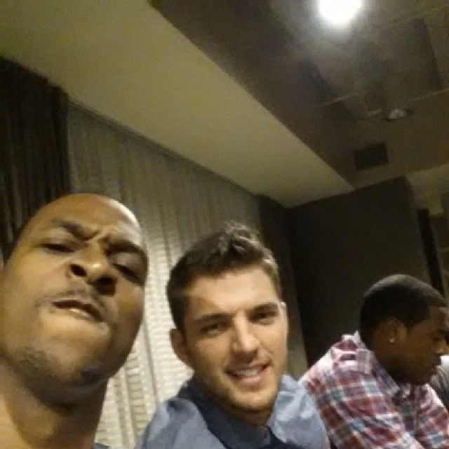 belinellirubio97:  instanba:  Me and Justin Timberlake I mean Robin thicke I mean chandler Parsons:  Chandler…I could totally start liking a guy like him…but he's got blond hair…  Aye he's weird!!!!