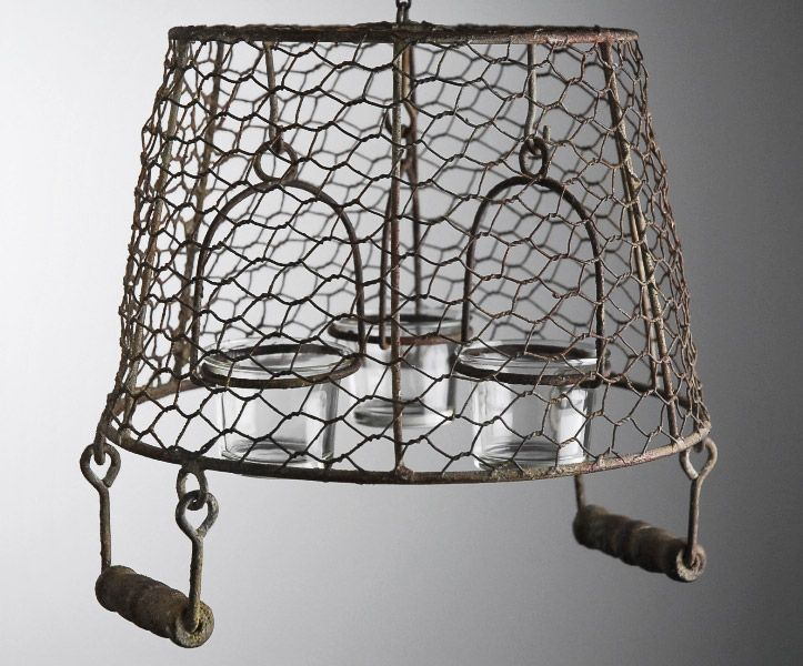 Another Great Find On Hanging Basket Chandelier Candle Holder By Save Crafts