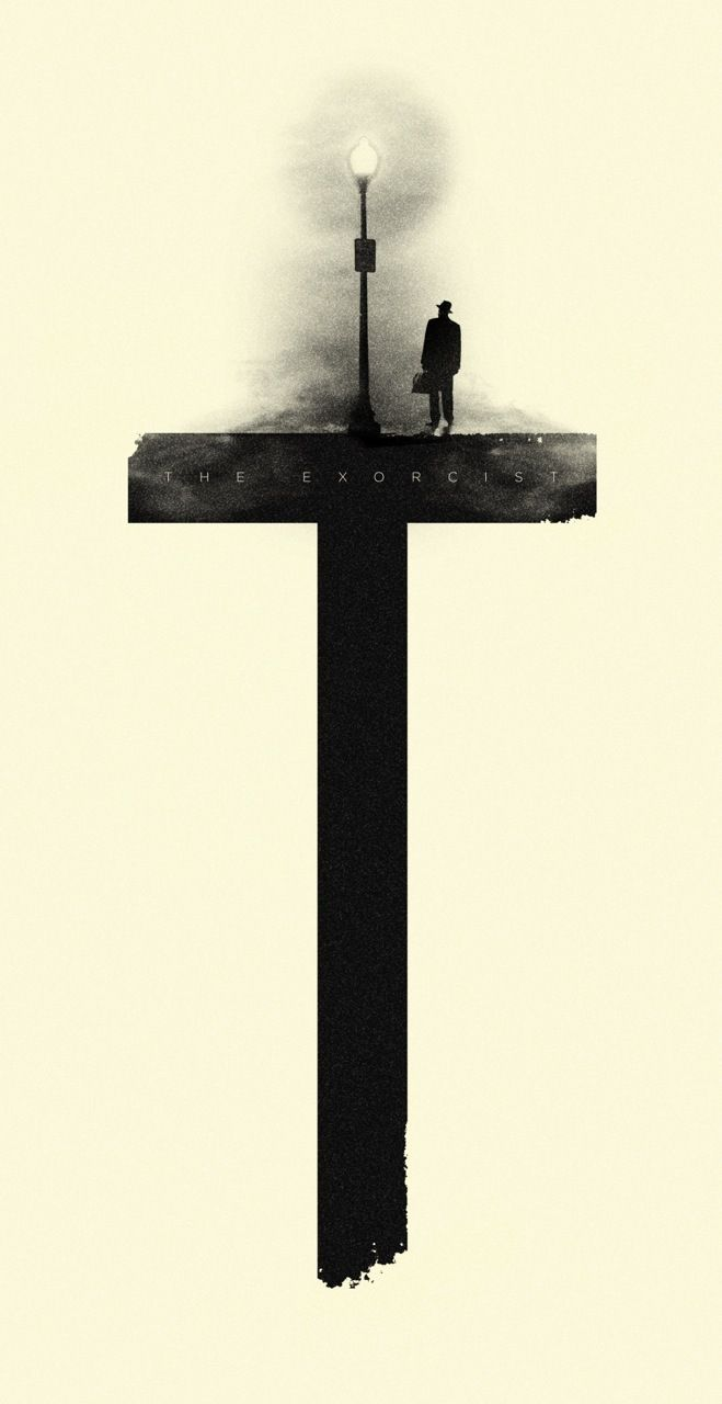 I don't really care what any one says, the exorcist scared the hell out of me, unrated version is awesome!! Check it out for those horror movie lovers out there! It's a classic. #exorcist #minimalistposter