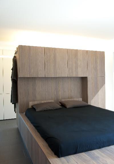 ♂ Masculine and minimalist bedroom interior design