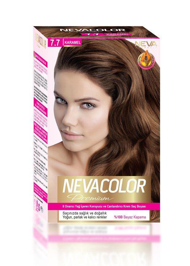 Nevacolor Premium Sac Boyasi 7 7 Karamel Sac Sac Boyasi Yag