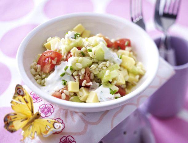 Unser beliebtes Rezept für Ebly-Salat und mehr als 55.000 weitere kostenlose Rezepte auf LECKER.de.