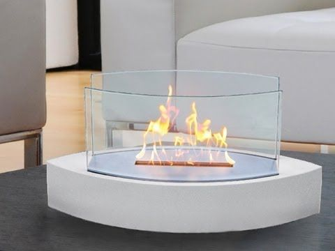 Anywhere Fireplace - Ventless Fireplaces. No words for how cool and innovative this is.