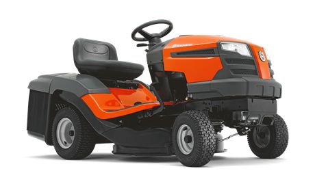 TC 130 The TC 130 is a user-friendly tractor ideal for homeowners having small to mid-size gardens. It is a compact-sized, efficient tractor with integrated collector, smart design and ergonomics. Has a powerful Husqvarna Series engine with choke less start. Easy to manoeuvre thanks to its compact format and pedal-operated hydrostatic transmission. Can be fitted with a BioClip® plug.