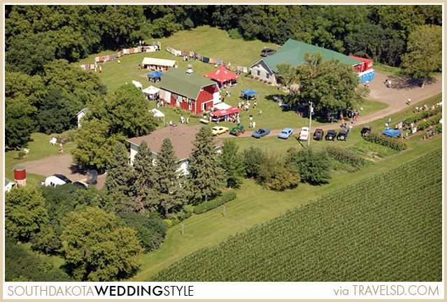 Strawbale Winery in Renner, South Dakota near Sioux Falls. A great destination for visitors, or perhaps a wedding location!