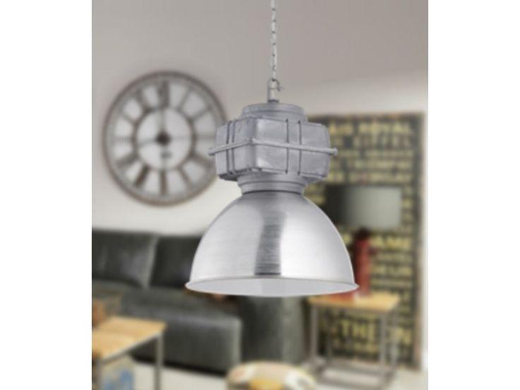 Industrialna lampa sufitowa wisząca Maniac-TRIO