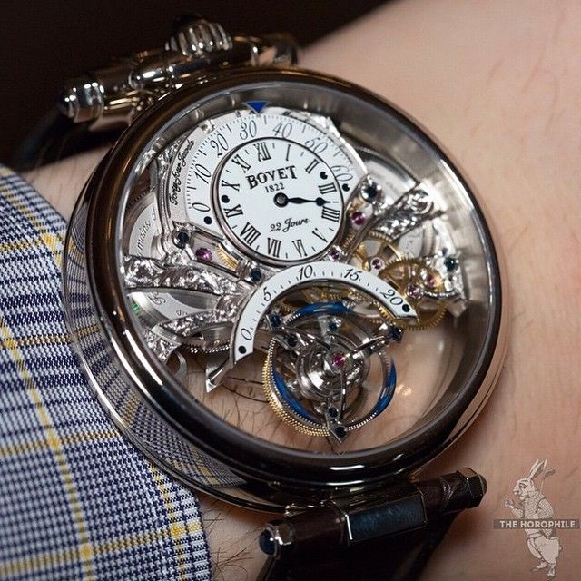 #HauteHorlogerieTime Bovet Amadeo Fleurier Braveheart Tourbillon #watch #watches #luxury #watchporn #luxurywatch #wiwt #chronollection #timepiece #design #lifestyle #fashion #Bovet