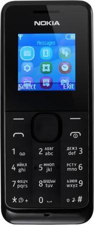 Nokia 105 (черный)  — 1390 руб. —  ВРЕМЯ ГОВОРИТЬ Высокоемкий аккумулятор Nokia 105 позволяет пользоваться телефоном до 12,5 часов в режиме разговора и до 35 дней в режиме ожидания. Nokia 105 – надежный помощник на весь рабочий день, каким бы долгим он ни был. НАДЕЖНЫЙ И ПРОЧНЫЙ Благодаря прочной клавиатуре с защитой от пыли и брызг Nokia 105 справится с любой, даже самой сложной задачей. НАСЛАЖДАЙТЕСЬ ЖИЗНЬЮ Небольшие, но важные мелочи делают жизнь проще. Например, пять программируемых…