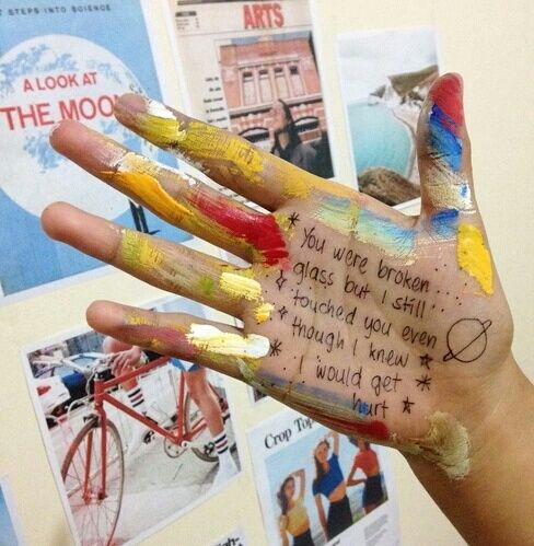 mensaje manos