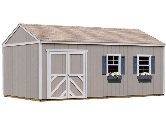 Handy Home Columbia 12x20 Wood Storage Shed W Floor In 2020 Wood Storage Sheds Shed Storage Shed Design Plans