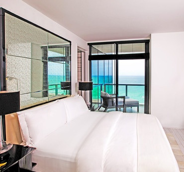 The W Hotels Bed -the best beds ive ever slept on!