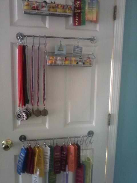 Medal Ribbons Baseball Storage Add A Shelf Or Two For