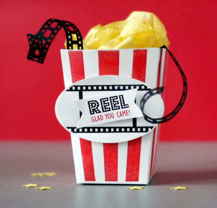 Movie Award Show Party Favors, can be used as a ty gift for team members who love seeing movies