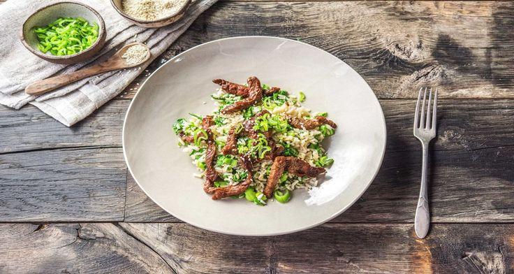 Teriyaki Beef with Bok Choy and Rice Recipe   HelloFresh