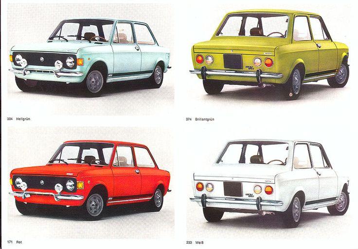 Le macchine che hanno fatto la storia di un paese Fiat 128 Rally