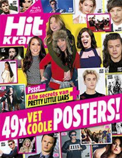 Proefabonnement: 8x Hitkrant € 14,95: Ieder nummer van de Hitkrant zit barstensvol leuke interviews, vette posters en spraakmakende reportages.