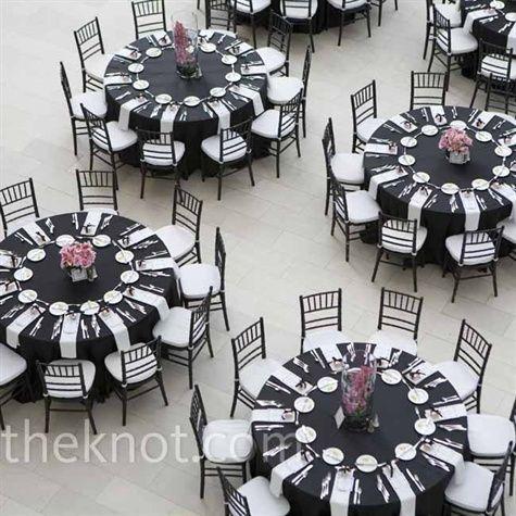 Image Result For White Napkins Black Tablecloth