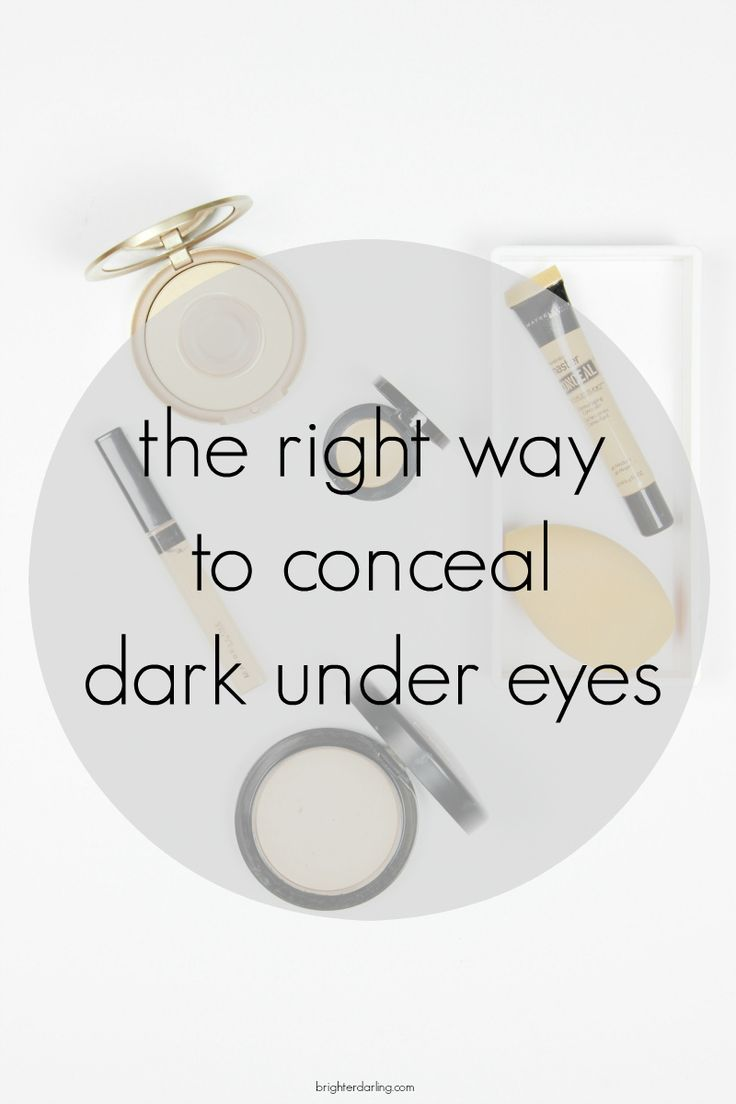 Most of my friends use the wrong products to conceal their under eye area and ask why it doesn't work. This is the right way to conceal under eye circles.