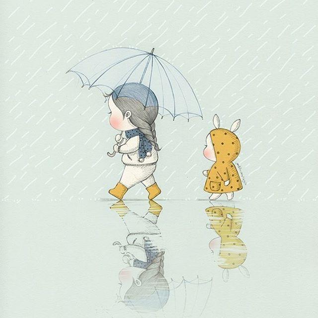 It rains on my mind sometimes