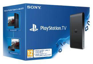 De PlayStation TV, de nieuwe microconsole van Sony voor het streamen van PS4-games en het afspelen van PS Vita-, PSP en PS one-games.