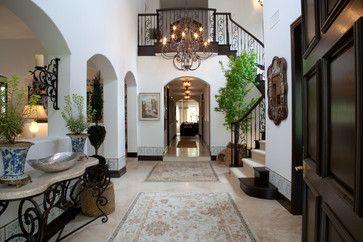 Vicki Gunvalson RHOC Home & Garden transformation 2013 - mediterranean - entry - orange county - Leanne Michael L U X E lifestyle design