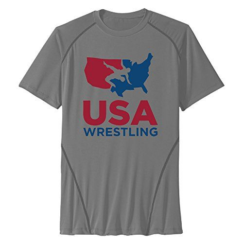 Short Sleeve Quick Dry Team USA Wrestling Rio 2016 Olympic All Sport Training T-Shirts:   Manufactured To The Highest Quality Available.