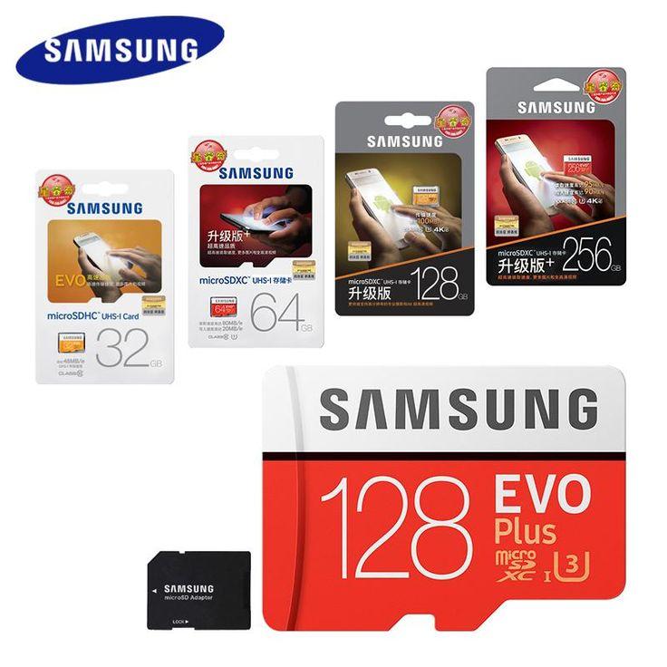 [Visit to Buy] SAMSUNG Micro SD Card 128GB 64gb 32gb 256gb 100Mb/s Memory Card Class10 U3 Flash TF Microsd Card for Phone with Mini SDHC SDXC #Advertisement