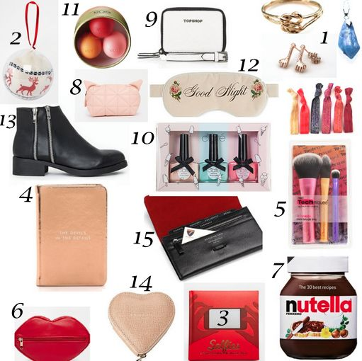 Stocking fillers gift guide for Christmas