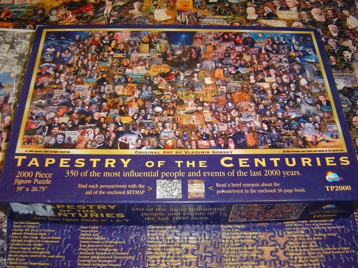 Sunsout Puzzle Tapestry Of The Centuries Gorsky Complete
