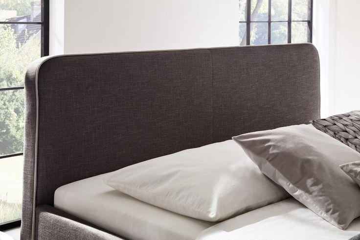 łóżko KONA z miękkim zagłówkiem
