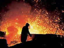 Steel mill - Wikipedia, the free encyclopedia