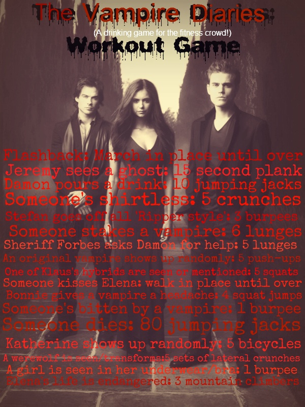 The Vampire Diaries: Workout Game
