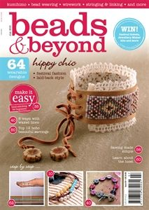 Get your copy from shop.inspiredtomake.com /beads-beyond-july-2015 or a digital copy from www.pocketmags.com