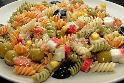 Foto de la receta de ensalada de pasta fr a sopas - Ensalada fresca de pasta ...
