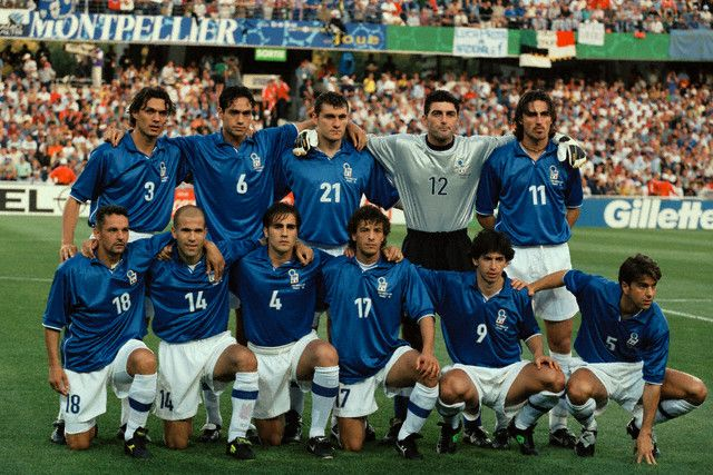 Italy Team, World Cup 1998