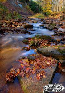 Indian Creek,  Indian Falls Conversation Area, Owen Sound, Grey County, Ontario, Canada | Richard MacDonald, Getaway Grey