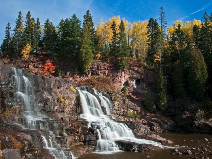 Great hiking around Gooseberry Falls State Park  #MSPgetaway